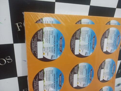 Rótulos Personalizados, Papel Adesivo, 7x7cm (5000 Unds)