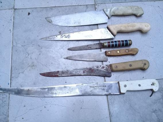 Cuchillo Eskilstuna Y Cinco Mas 1 Machete Tramontina