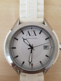 Relógio Masc Armani Exchange Ax1229 Branco Original