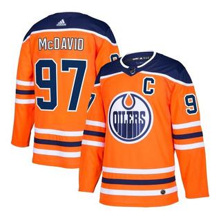N. H. L. Jersey Edmonton Oilers #97 Mc David (talla M)