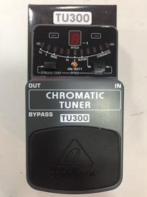 Pedal Behringer Afinador Cromático Tu300 Com Nota Fiscal