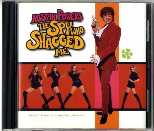 Imagem 1 de 1 de Cd Austin Powers The Spy Who Shagged Me Usa 1999 Importado