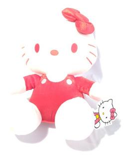 Peluche Hello Kitty Original Rojo De 30 Cm De Altura