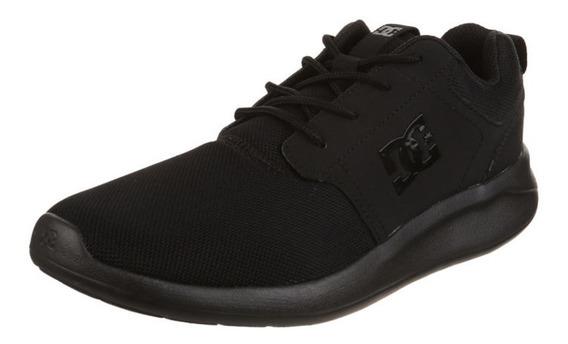 Zapatillas Dc Shoes Modelo Midway Negro Negro