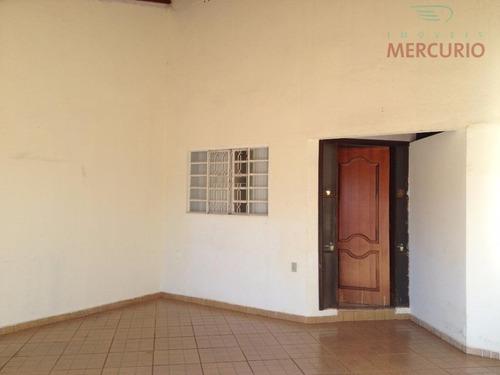 Imagem 1 de 8 de Casa Com 3 Dormitórios À Venda, 138 M² Por R$ 265.000,00 - Parque Santa Edwiges - Bauru/sp - Ca1329