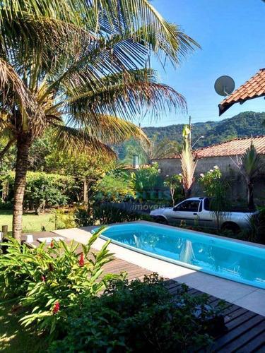Casa Para Venda Em Ubatuba, Praia Da Sape, 3 Dormitórios, 1 Suíte, 2 Banheiros, 2 Vagas - 1341_2-1181200