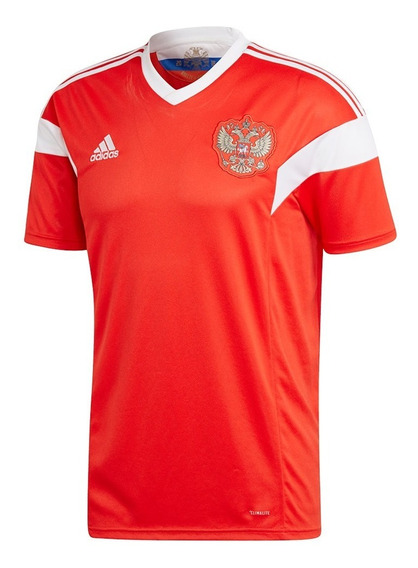 Camiseta Oficial adidas Hombre Rusia Rfu Home 2018 2015746-d