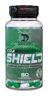 Cycle Shield 60 Caps Dragon Pharma Protetor Hepatico Tpc