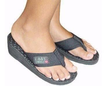 Sandália De Imã Dedo Salto Alto Terapia Magnética Dor Terumi
