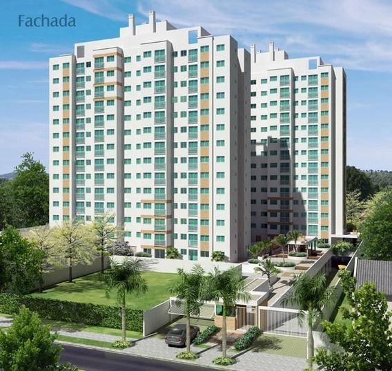 Apartamento Em Centro, São José Dos Pinhais/pr De 59m² 3 Quartos À Venda Por R$ 266.769,00 - Ap196041