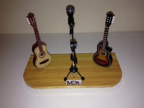 Mini Palco Violão Flat Elétrico + Violão Acústico
