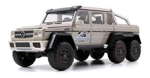 Miniatura Mercedes Benz G63 6x6 Jurassic World 1:24