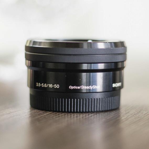 Lente Sony 16-50mm Oss 3.5-5.6