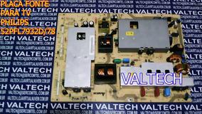 Placa Fonte 52pfl7932 Philips Nova Original