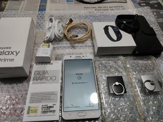 Smartphone Samsung Galaxy J7 Prime - Dourado 32gb + Brindes