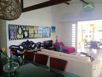 Casa Mobiliada Para Locação Temporada - Praia Do Cabo Branco - João Pessoa - Ca0123 - Pb - Ca0123
