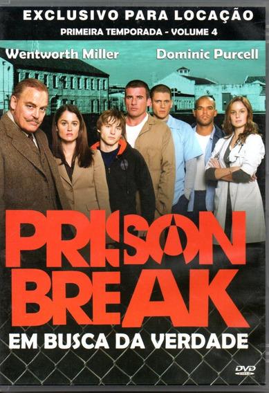 Dvd Prison Break Em Busca Da Verdade Vol.4 Da 1ª Temporada