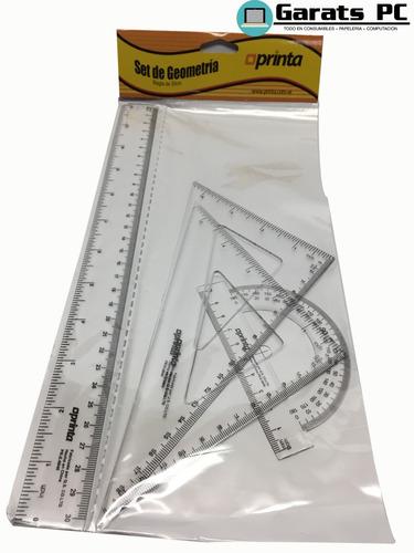 Juego Geométrico Printa 4 Piezas X2unid