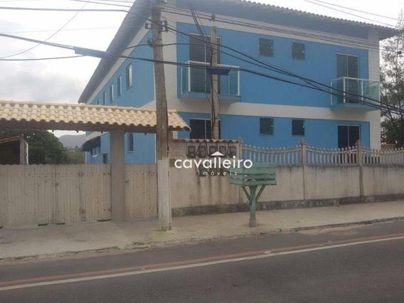 Apartamento 2 Quartos, Frente Para Praia De Guaratiba, Maricá. - Ap0183