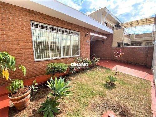 Casa Com 3 Dormitórios À Venda, Jardim Paulistano - Ribeirão Preto/sp - Ca0927