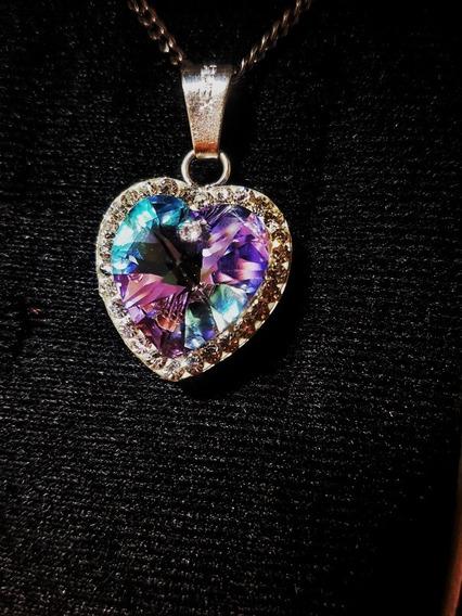 Swarovski Crystals Plata 9.25 Con Circonia Alrededor