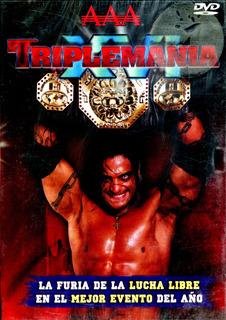 Dvd Triplemania Xvi Lucha Libre Aaa La Caravana