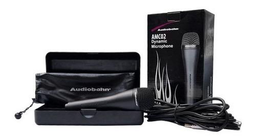 Imagen 1 de 10 de Microfono Audiobahn Unidireccional Alambrico Supercardioide