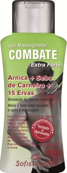 Gel Combate Extra Forte 200 G Sofisticatto