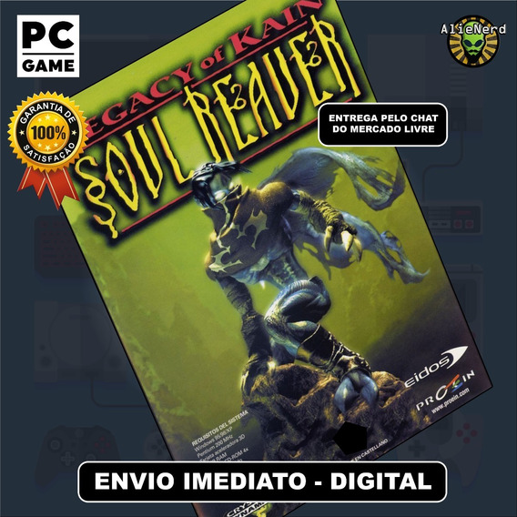 Legacy Of Kain Soul Reaver - Original - Pc - Mídia Digital
