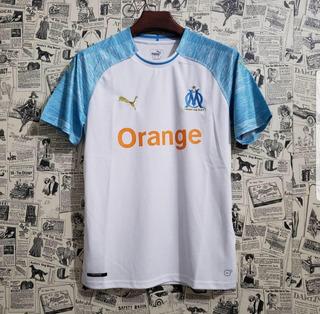 Camisa De Time De Futebol Olympique De Marselha