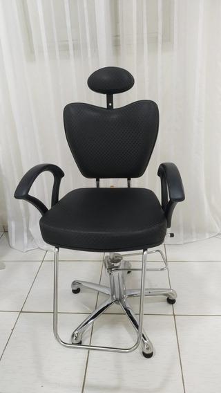 Cadeira Para Maquiagem - Reclinável
