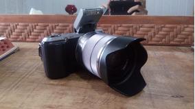 Câmera Sony Nex C-3 16.2 Megapixels C/ Lente 18-55 + Mochila