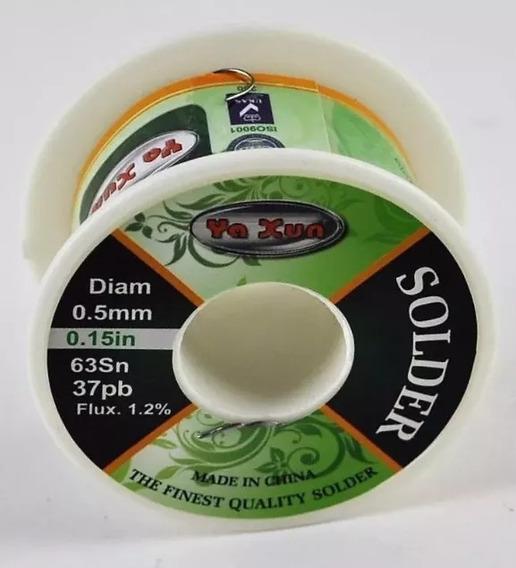 Rolo Estanho 0,5mm 40g 63/37 Sn/pb Fio De Solda Fino