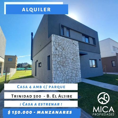 Imagen 1 de 14 de Alquiler - Casa 4 Amb C/ Parque - Manzanares