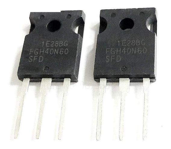 4 Unidades Transistor Fgh40n60 Fgh40n60sfd 600v 40a