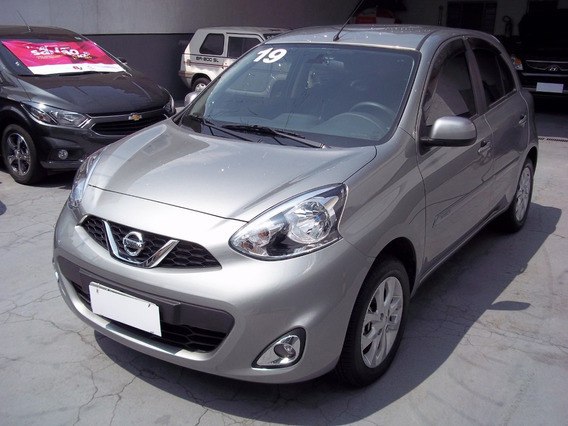 Nissan March 1.0 Sv Completo Único Dono Extremamente Novo