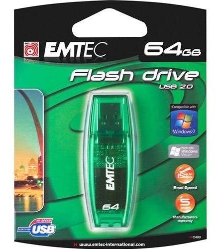 Pen Drive Usb 2.0 64gb Emtec