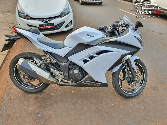 Kawasaki Ninja 300 R Branco 2013