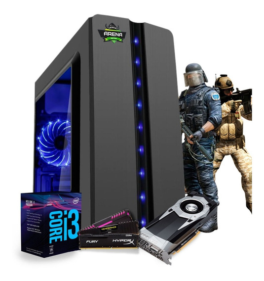 Pc Gamer I3 8100 Z370m Aorus Gaming Gtx 1060 6gb Mem 16gb