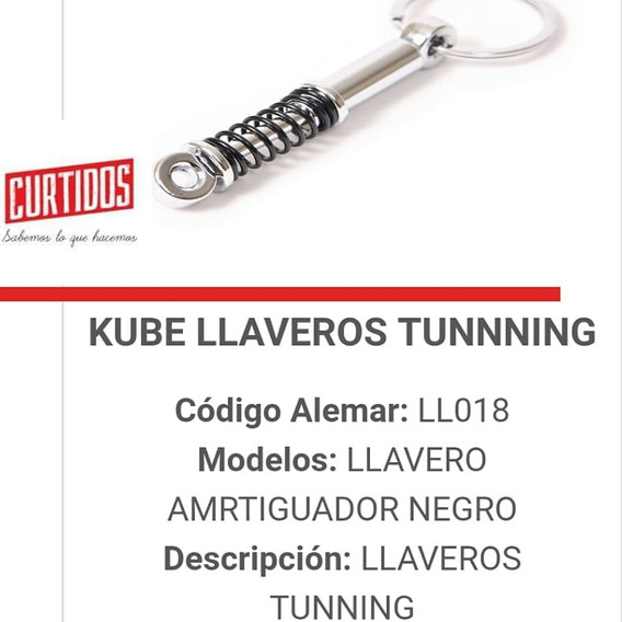 Llaveros Tuning Fierreros Kube Originales