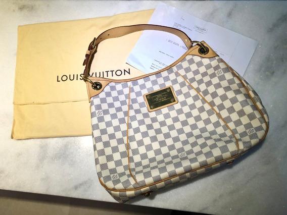 Bolsa Louis Vuitton Lv Original Galliera Pm Damier + Nf