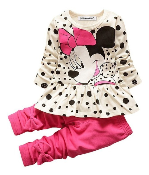 Conjunto Inverno Personagem Disney Minnie Mouse