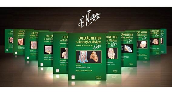 Coleção Netter De Ilustrações Médicas - 11 Volumes
