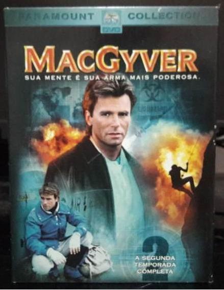 Dvd Box Macgyver: Profissão Perigo - 2ª Temporada - Original