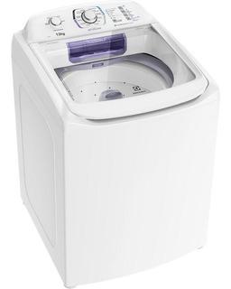 Lavadora De Roupas Electrolux, 13kg, Dispenser Autolimpante, Branco - Lac13 - 110v