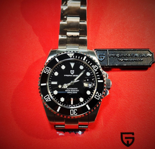 Relógio Automático Pagani Rolex Aço Inox Masculino