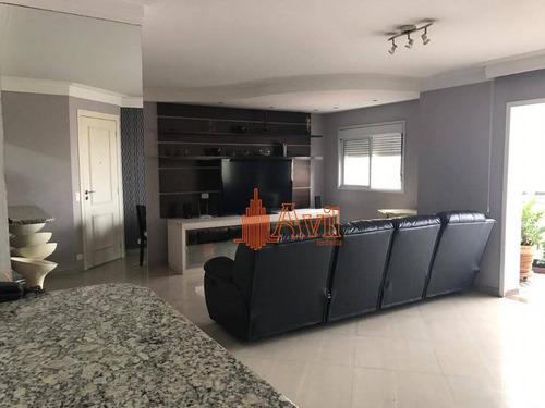 Apartamento Com 3 Dormitórios À Venda, 122 M² Por R$ 1.190.000,00 - Vila Regente Feijó - São Paulo/sp - Ap3451