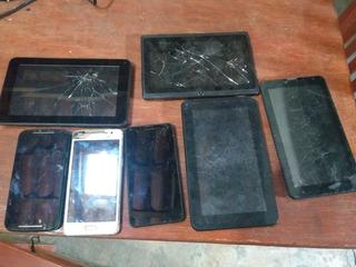 Lote De Celulares E Tablets Com Defeito