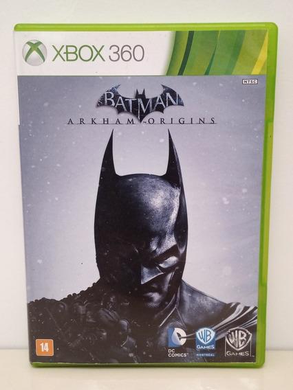 Batman Arkhan Origins Xbox 360 Midia Física Original P/entrg