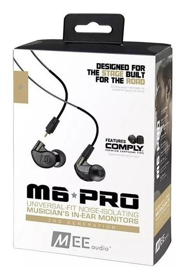 Fone In Ear Mee Audio M6 Pro 2ª Geração Orig/garantia/nf-e